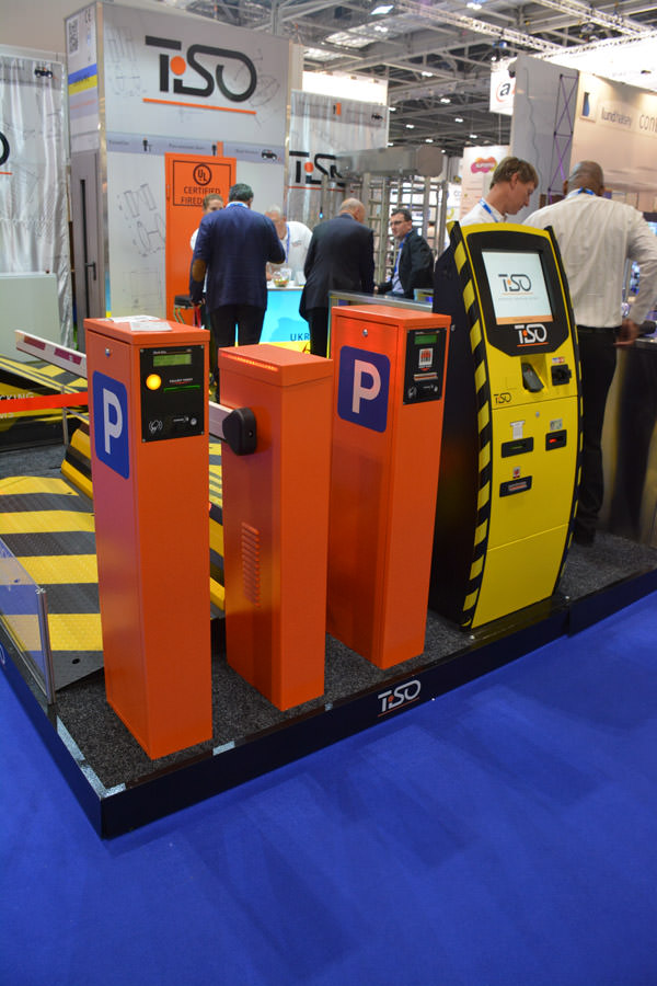 Automatic parking management system, IFSEC 2015