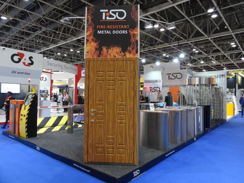 Fire-resistant doors, Intersec 2015