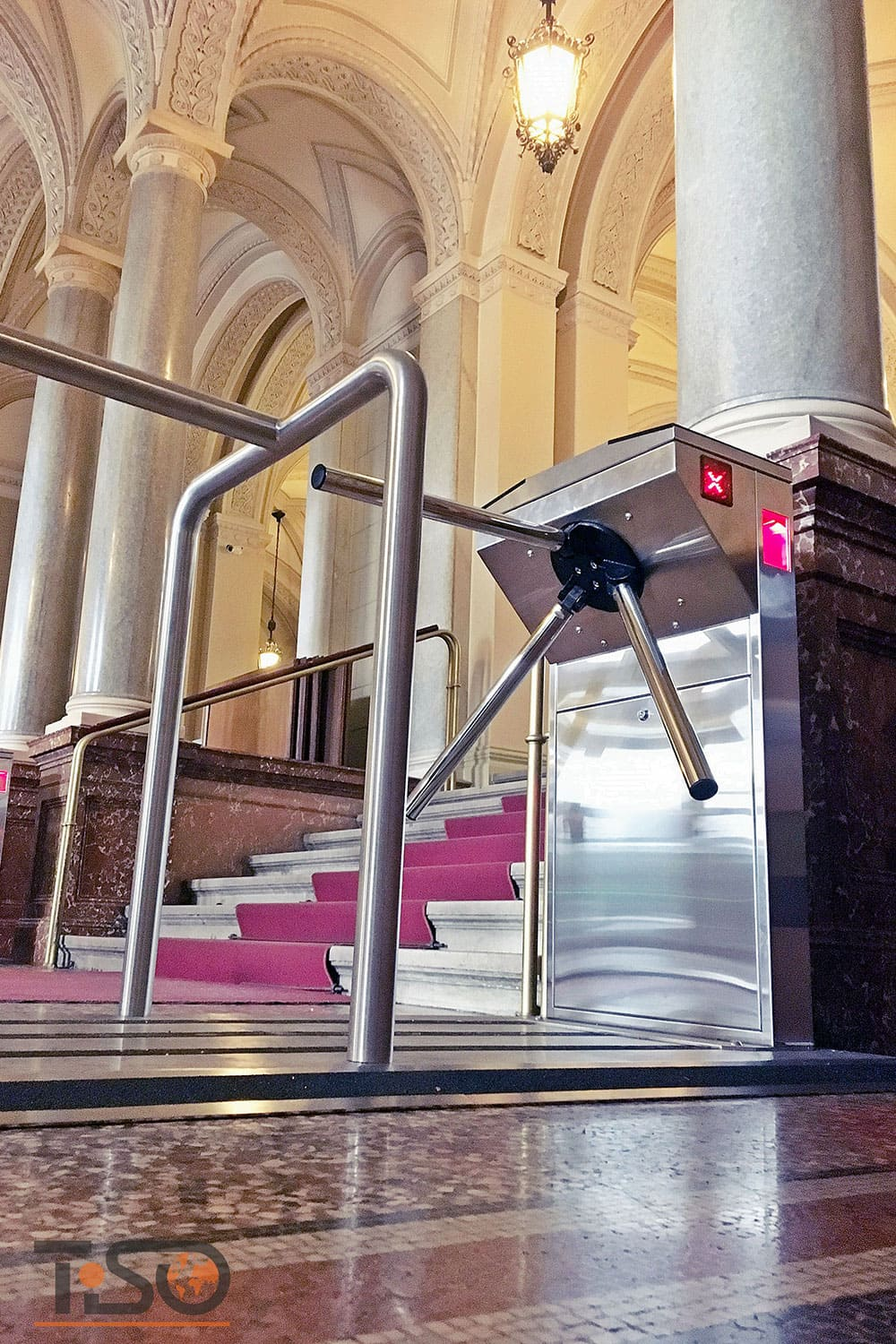 Bastion and mobile platform Frame-M, The Hungarian academy of sciences, Budapest, Hungary