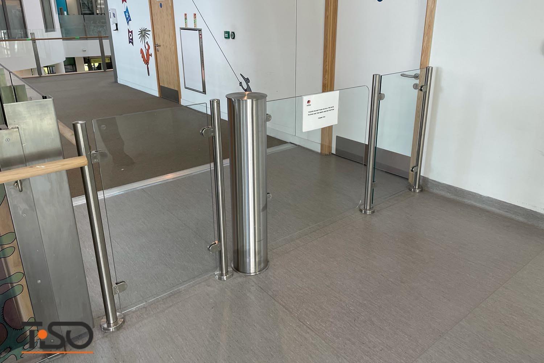 Gabinete Gate-GS y vidrio, Alder Hey Children's Hospital, Reino Unido