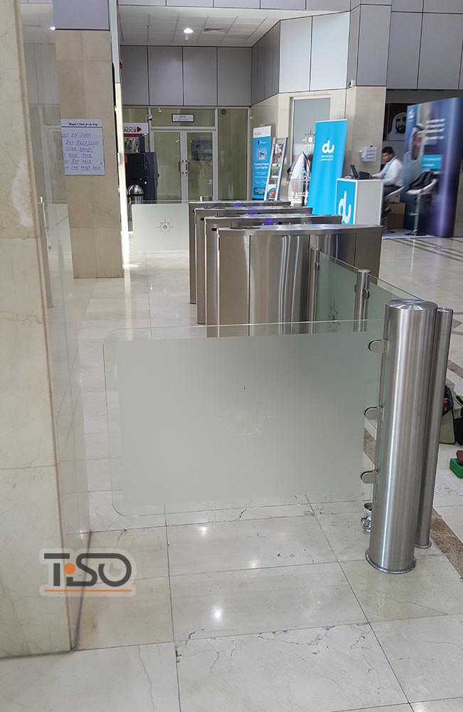 Gate-GS, puertos de Abu Dhabi HQ de la compañía