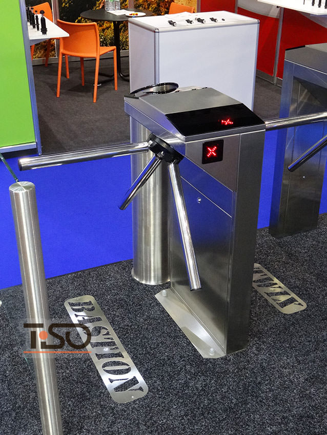 Turnstile tripod bastion of european manufacturing tiso