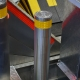 Removable parking bollard (on the pin), IFSEC-2017
