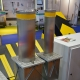 Submersible parking bollard (raised/lowered by the screw pair), IFSEC-2017