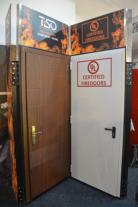 UL metal fire-doors