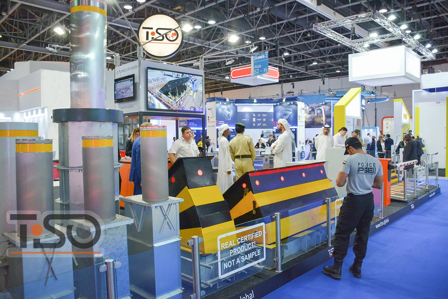 Road blocking systems, Intersec-2018