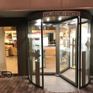 Revolving door, Poland