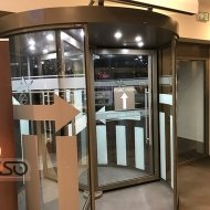Gallery of Revolving doors