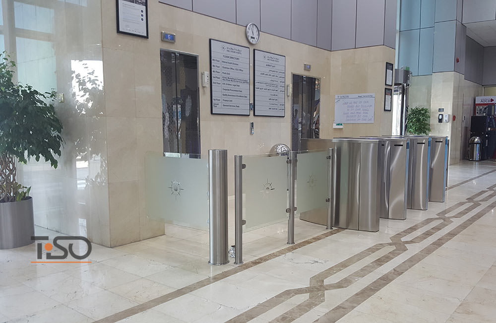 Speedblade, Gate-GS and Glass enclosure, Abu Dhabi ports Company HQ