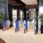 Speedblade (largura de passagem 500mm e 900mm), escritório central, Riyadh, Arábia Saudita