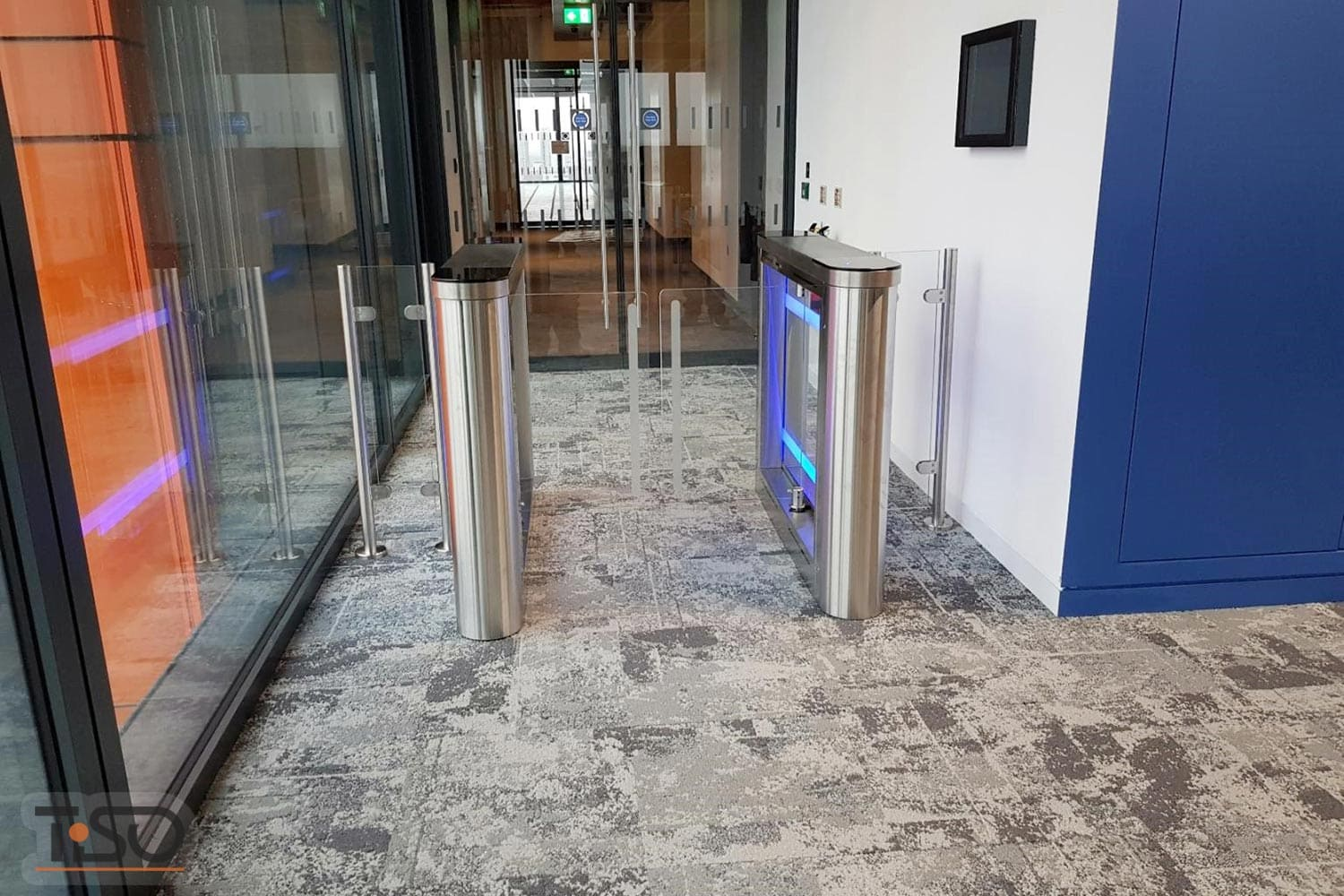 Sweeper and Glass enclosures, Office center, Maidstone, United Kingdom