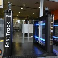 L'aéroport international Sweeper Boryspol Kiev Ukraine