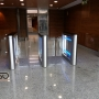 Sweeper Gate-GS and Glass enclosure, Olympic channel, Madrid, Spain