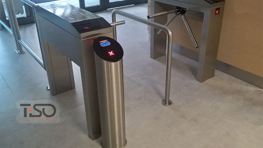 Turnstile twix tripod of european manufacturing tiso