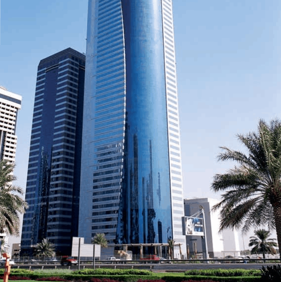 Edificio del siglo XXI Al Rostamani, Dubai, EAU