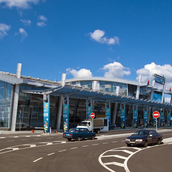 Airport Zhuliany, Kyiv, Ukraine