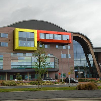 Alder Hey Childrens hospital, Liverpool, Reino Unido