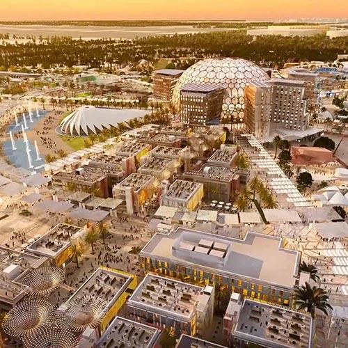 المكتب الرئيسي لـ Expo-2020 ، دبي ، الإمارات العربية المتحدة
