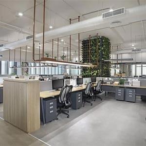 Sede de la empresa MAX, Nueva Delhi, India
