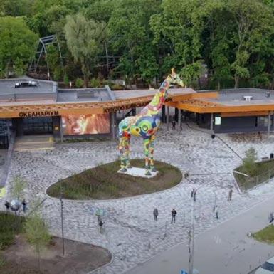 Zoológico, Kiev, Ucrania