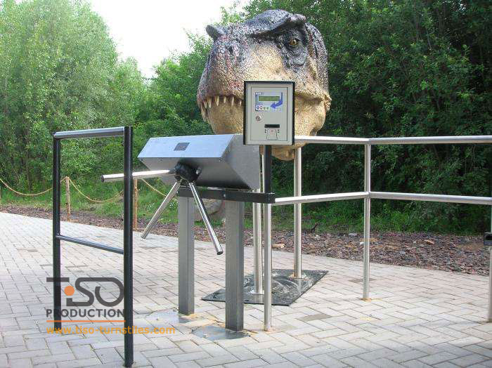Tripod turnstiles, Zoological Gardens, Czech Republic