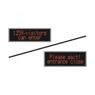 Système de contrôle du nombre de visiteurs